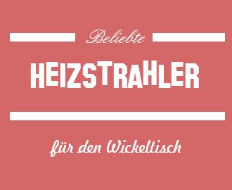 Heizstrahler-Wickeltisch