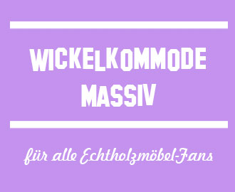 Wickelkommode-massiv